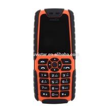 Waterproof Dustproof Shockproof Xiaocai X6 Cheap Mobile Phone MTK6250D 5000mAh 0.3MP camera bluetooth