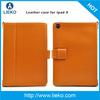 leather case for Ipad mini & flip leather case for ipad
