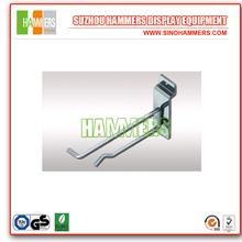 Slatwall Metal Hanging Hooks/ Display Rack Hooks