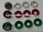 aluminum colourful anodized bolts washers