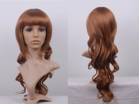 medium ash blonde 24 inch high quality bodu wave lace front wigs of brazilian virgin hair