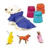 Dog Rain Jacket Slicker Coat Pet Rain Apparel
