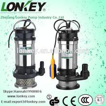 stainless steel Submersible sewage Pump, agriculture irrigation submersible pumps, submersible water pump 1hp