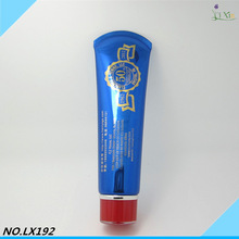 Hair aluminum tube/bottle biodegradable cosmetic packaging