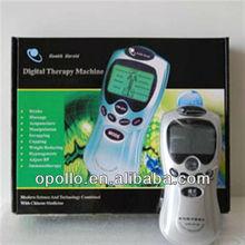 portable mini electro- therapy tens machine digital massager muscle stimulator pinook mini massager