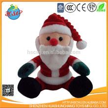 pai natal brinquedos de pelúcia