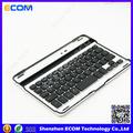 2014 shenzhen de aluminio más barato , w / usb bluetooth del teclado del ordenador portátil para el ipad mini