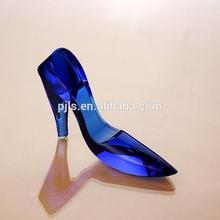 blue crystal shoes wedding gift display wedding shoes