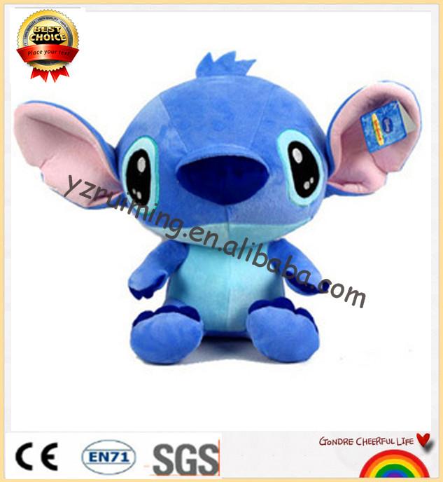 polular cute plush toy stitch OEM stitch for baby toy