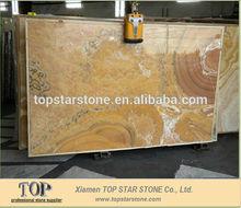 China Honey Cream Onyx Marble Coffee Bar Top