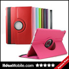 360 Degree Rotating PU Leather Cover For Ipad Air Skin Case