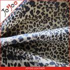 leopard pu fabric material for sofa, 100% pu artificial leather for sofa, pu sofa leather