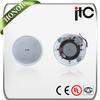 ITC T-105R White 5 inch 2.5W 5W 10W Ceiling Speaker for Public Address System