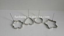 Stainless Steel heart shape Egg Ring LFGB&FDA certification