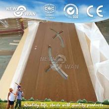 Free Sample Wooden Design Kerala PVC Door