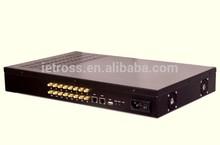 gsm voip goip gateway sip trunk to asterisk ip pbx 16 Port 128 sim ETS16X8G
