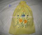 Eco-friendly Germany quality custom extra large cotton laundry bag