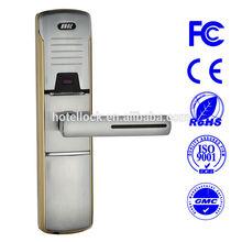 Smart card door locking device