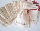 Eco-friendly Germany quality custom small cotton gift bag