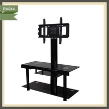 perspex wooden corner plasma tv stand rotating tv stand