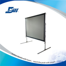 Portable design fast folding projector screen for activity
