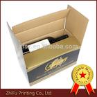 luxury printing corrugated packaging wine box