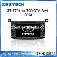 ZESTECH 2 din Car radio for toyota rav4 2013 Car DVD GPS With Gps navigation systems mobile entertainment