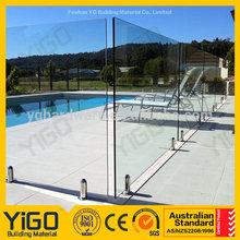 Regular Spigot Glass swimming Pool Fence