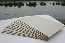 Gray board paper