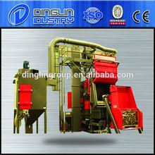 conveyor belt shot blasting machine/tracked shot blast machine/shot blasting machine for medium