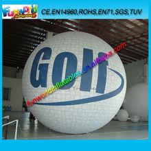 2014 Inflatable Golf Ball, Helium Golf Ballon, Advertising Balloon For Sale (FUNHB1-079)