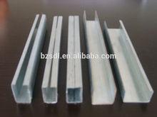 galvanized steel window profiles