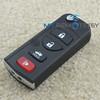 Flip remote key 4button for Nissan car key remote head key