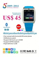 On sell USD45 celular Low price Watch Phone With Tv 1month time