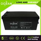 Top quality 12v 200ah deep cycle agm vrla battery