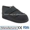 médico de malha de largura da sapata para os pés inchados