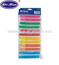12 pcs/lot small glitter glue in OPP bags
