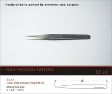 Anti-static plastic tweezers/Conductive fiber plastic cheap hot high precision tweezers