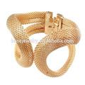 Del acoplamiento del Metal de la cadena del brazalete de la pulsera, Chapado en oro de la joyería de la pulsera ( DBR0033 )