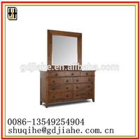 beautiful Antique Vanity Dresser With Mirror