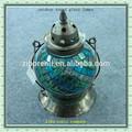 belle boule de verre mosaïque orb jardin extérieur ronde antique lampes en verre soufflé à la main