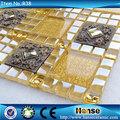 Fabbrica di foshan r38 autoadesivo di vetro mosaico decorativo rivestimenti.