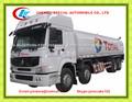 roues 12 30 cbm aéronefs de ravitaillement des camions howo