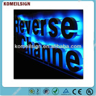 custom brand Logo back- lit LED Channel letters C1