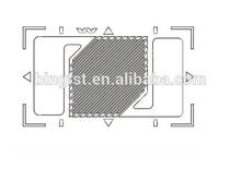 high quality strain gauge sensor price / strain gauge for load cells / strain gauges for digital scales