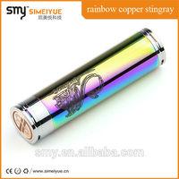 rainbow Stingray Mechanical Mod Clone Black Patriot Atomizer Rebuildable