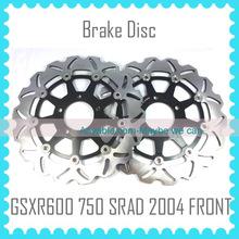 Motorcycle Front Brake Discs For SUZUKI GSXR600 GSXR750 SRAD 2004