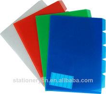 Custom design clear plastic file folders envelope folder document envelope
