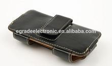 2014 New Fashion Model belt leather case leather belt clip wallet flip leather case for iPhone 5
