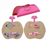 New Style Vermilion Border-Shape Woman Manicure Kit Nail Care Tools Set